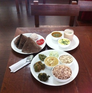 The healthy feast at Vaathsalya